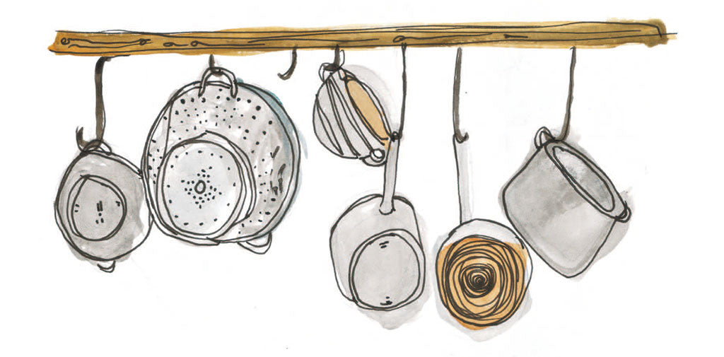 mindful eating pots and pans