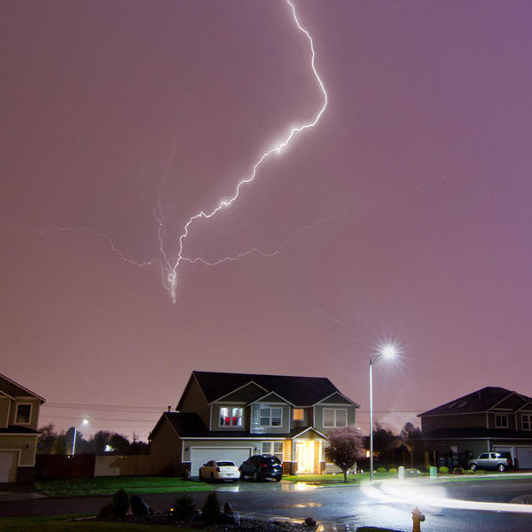 Protecting Yourself (and Your Tech) from a Lightning Storm