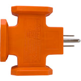 TRIANGLE HEAVY - DUTY TRIPLE TAP - Stanley Electrical Accessories
