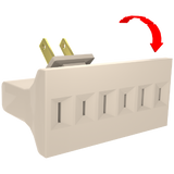 3 - OUTLET SWIVEL ADAPTER - Stanley Electrical Accessories