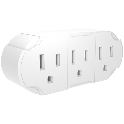 3 - WAY WALL ADAPTER - Stanley Electrical Accessories