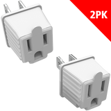 STANLEY 3 - TO - 2 ADAPTERS - 2 PACK - Stanley Electrical Accessories