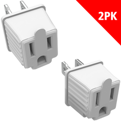 3 - TO - 2 ADAPTERS - 2 PACK
