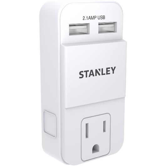 STANLEY PLUGMAX USB - Stanley Electrical Accessories