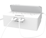 STANLEY 3-OUTLET DESKTOP USB CRADLE - Stanley Electrical Accessories