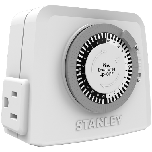 STANLEY TIME IT TWIN - Stanley Electrical Accessories