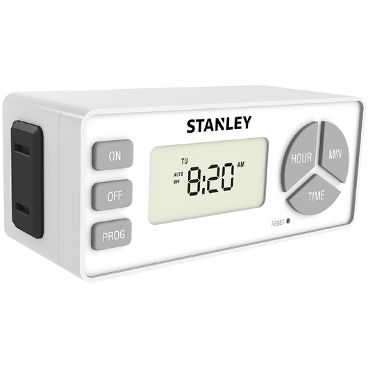 TIMERMAX DIGISLIM TWIN - Stanley Electrical Accessories