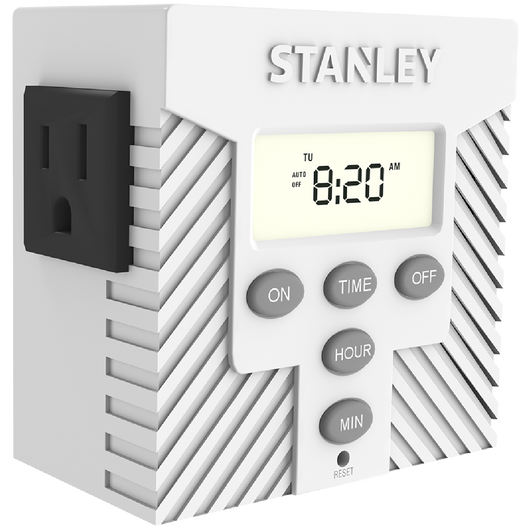 TIMERMAX TWIN DAILY - Stanley Electrical Accessories