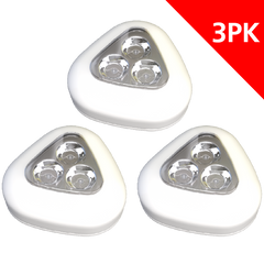 3-LED PUSH LIGHT (3PK)