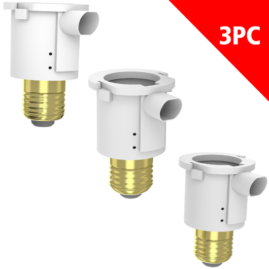STANLEY PHOTOCELL CANDLEBRA ADAPTER 3-PACK - Stanley Electrical Accessories