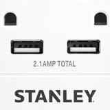STANLEY SURGEQUAD USB - Stanley Electrical Accessories