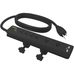 STANLEY DESK CLAMP SURGE PROTECTOR