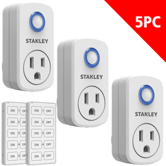 Wireless Remote System 3+2 Pack