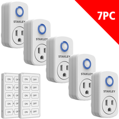 Wireless Remote System 5+2 Pack