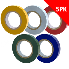 ELECTRICAL TAPE - 100 FT. TOTAL (5PK)