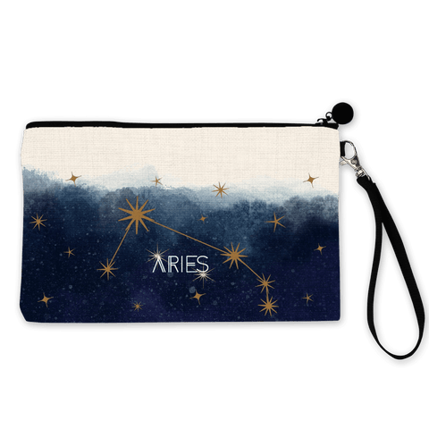 Aries Zodiac Make Up Pouch - Fawn and Thistle