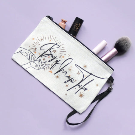 Bag of Magic Tricks Make Up Pouch - Fawn and Thistle