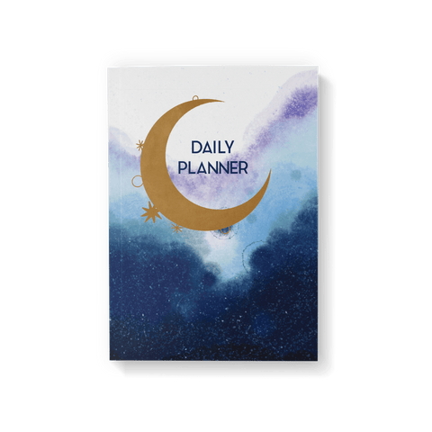 Celestial Moon Daily Planner - Fawn and Thistle