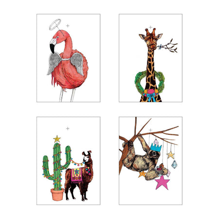 Festive Fiesta Christmas Gift Tags - Fawn and Thistle