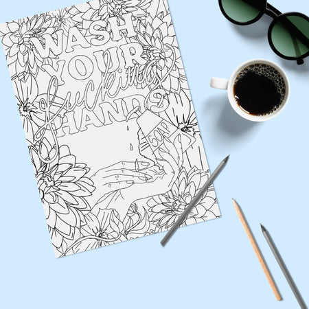 Free Printable Adult Colouring Pages - Fawn and Thistle