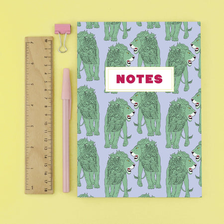 Grr Power Lion Bullet Grid Notebook - Fawn and Thistle