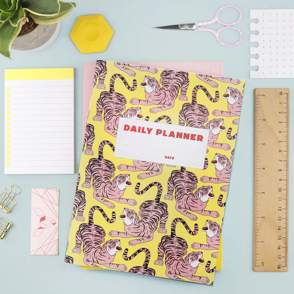 Grr Power Tiger Daily Planner - Fawn and Thistle