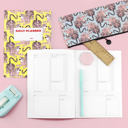 Grr Power Wild Cat Stationery Set - Fawn and Thistle