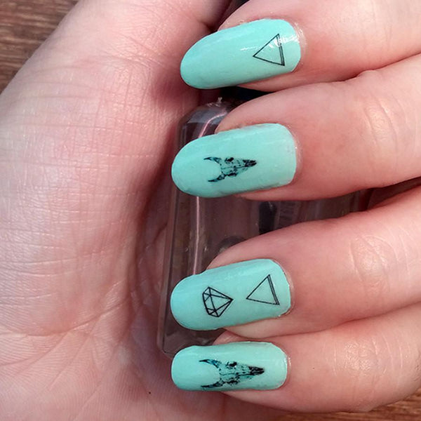 Nature Girl Nail Tattoo Set