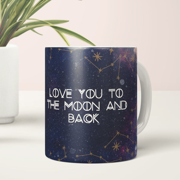 Love You to the Moon and Back Coffee Mug - Fawn and Thistle