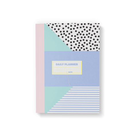 Memphis Geometric Daily Planner - Fawn and Thistle
