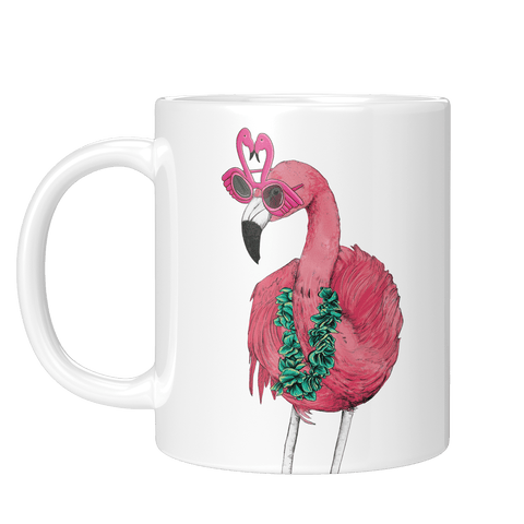 Party Flamingo Mug - Fawn and Thistle