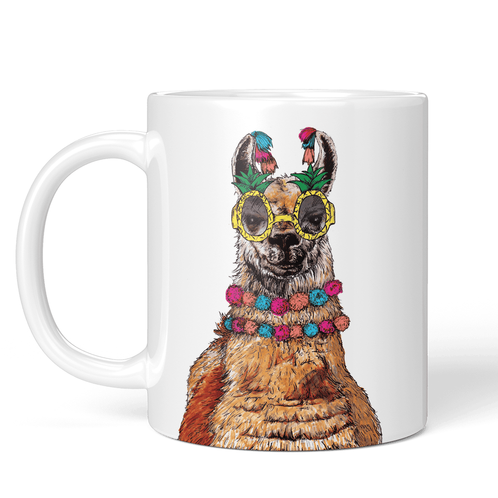 Party Llama Mug - Fawn and Thistle