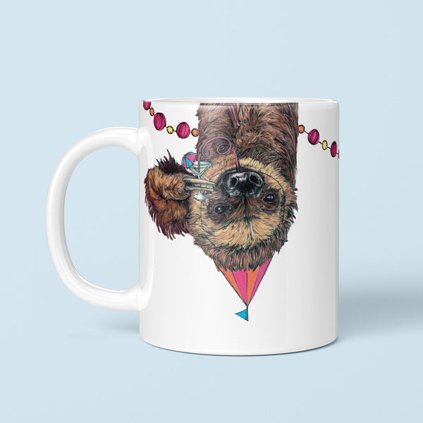 Party Sloth Mug - Fawn and Thistle