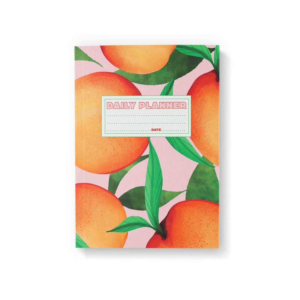 Peach Daily Planner - Fawn and Thistle