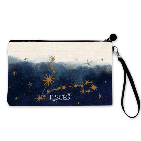 Pisces Zodiac Make Up Pouch - Fawn and Thistle