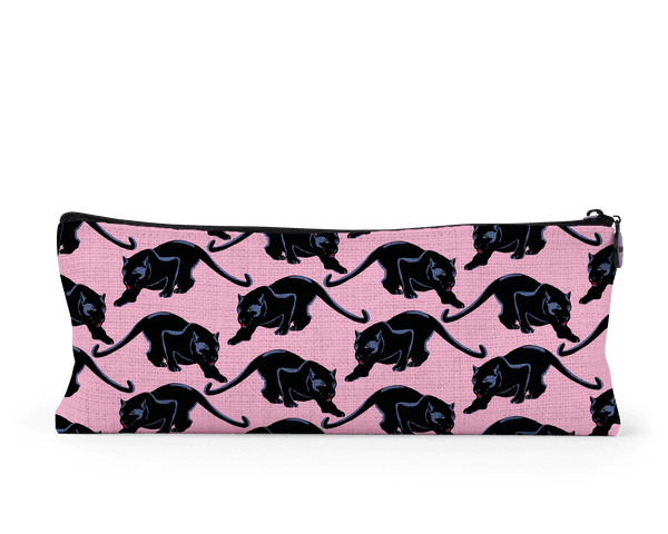 Prowling Panther Pattern Pencil Case - Fawn and Thistle