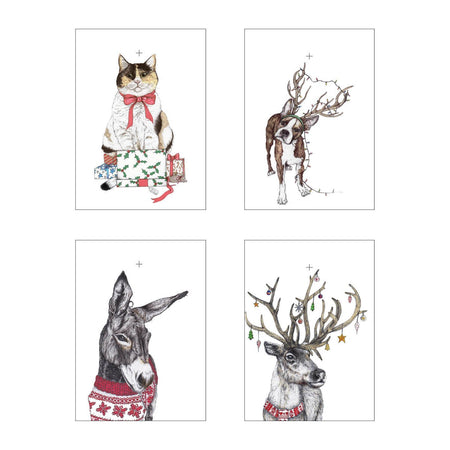 Santa's Helpers Christmas Gift Tags - Fawn and Thistle