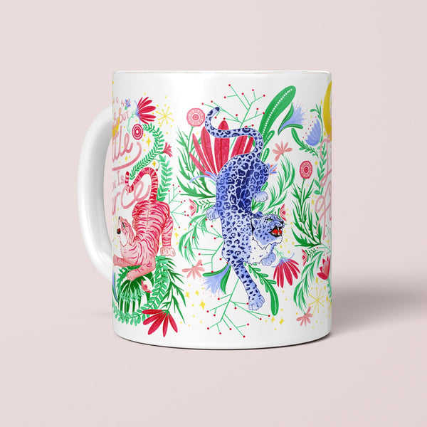 She is Fierce Tiger Mug - Fawn and Thistle