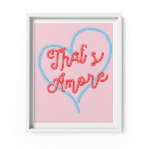 That's Amore Art Print - Fawn and Thistle