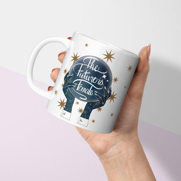 The Future is Female Coffee Mug - Fawn and Thistle