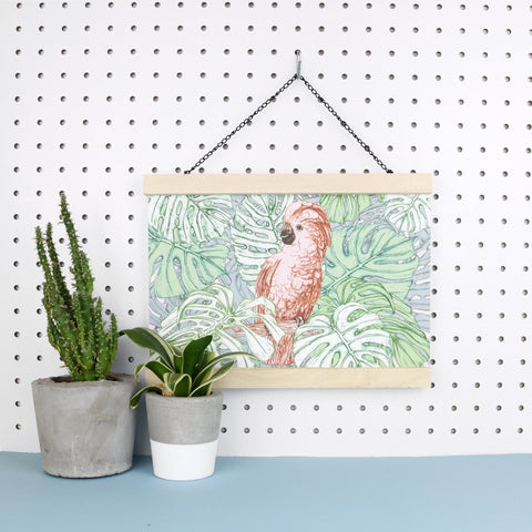 Tropical Cockatoo Giclee Art Print - Fawn and Thistle