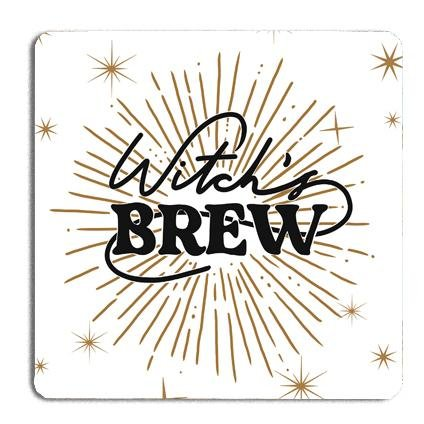 Witch's Brew Drinks Coaster - Fawn and Thistle