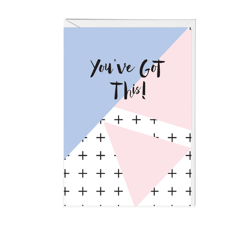 You've Got This Memphis Greeting Card - Fawn and Thistle