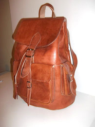 Leather Backpack Amiga
