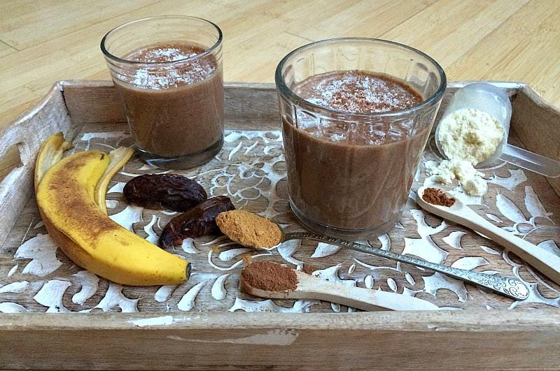ChocaMalty Maca Protein Smoothie