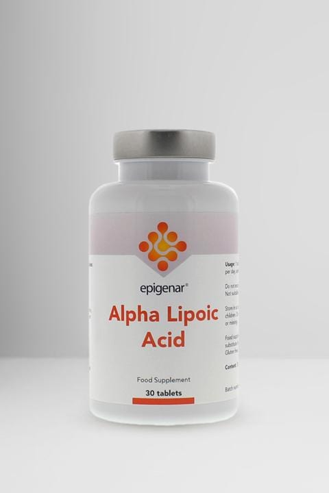 Epigenar Alpha Lipoic Acid 30 tablets