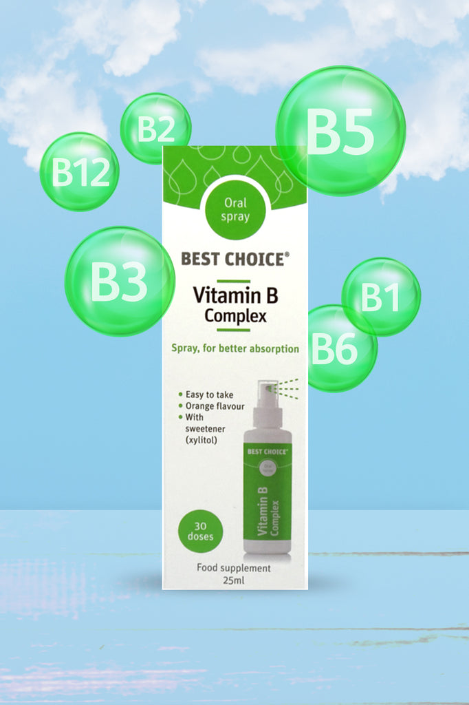 Best Choice Vitamin B Complex Oral Spray 25ml