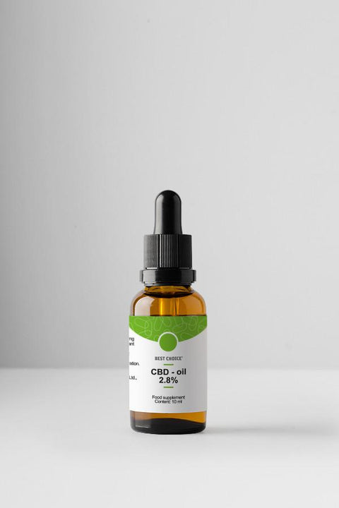 CBD Hemp Seed Oil 2.8% - 10ml
