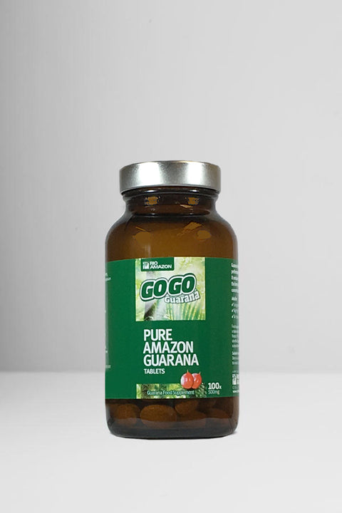 GoGo Guaraná 500mg Tablets x100
