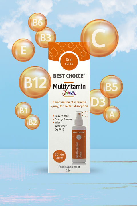 Best Choice Multivitamin Junior Oral Spray 25ml